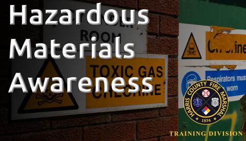Hazardous Materials Awareness (HMAW-18)