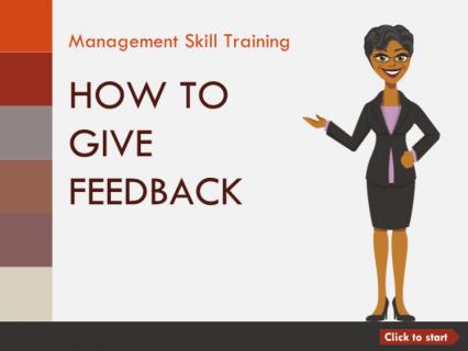 部下へのフィードバックの与え方 How to Give Feedback to Your Staff (English) (aMS001)