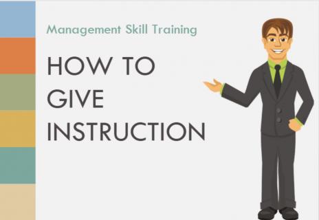 ちゃんと伝わる部下への指示の出し方 How to Give Instructions (English) (aMS002)