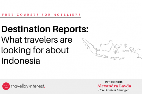 Destination Report: What travelers are looking for about Indonesia