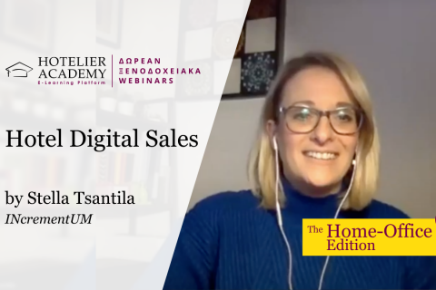 Hotel Digital Sales - Free Webinars 2020 - The Home Office Edition