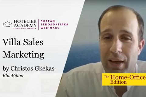 Villa Sales Marketing - Free Webinars 2020 - The Home Office Edition