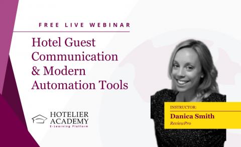 Ηotel Guest Communication & Modern Automation Tools
