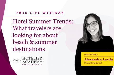 Hotel Summer Trends: What travelers are looking for about beach & summer destinations