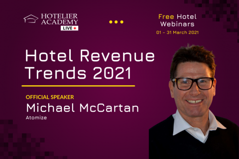 Hotel Revenue Trends 2021 | Webinar in English | 9th of March 2021 | 11:00 (EET)