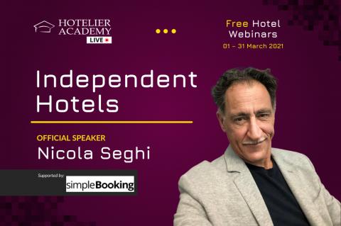 Independent Hotels | Δωρεάν Ξενοδοχειακά Webinars | Μάρτιος 2021