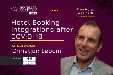 Hotel Booking Integrations after COVID-19 | Δωρεάν Ξενοδοχειακά Webinars | Μάρτιος 2021