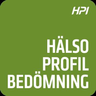 Uppdatering i HPI Hälsoprofil