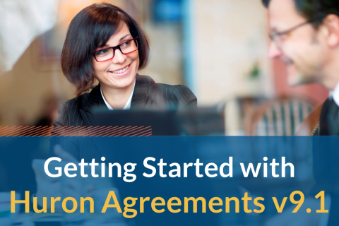 Getting Started with Huron Agreements v9.1 (103)