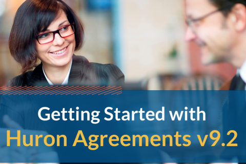 Getting Started with Huron Agreements v9.2 (104)