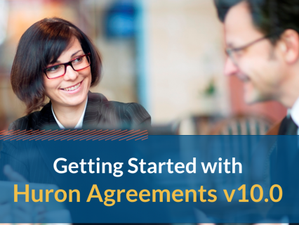 Getting Started with Huron Agreements v10.0 (105)
