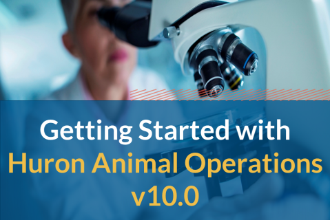 Getting Started with Huron Animal Operations v10.0 (206)