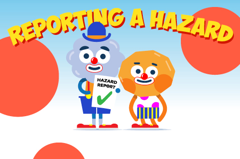 Reporting a Hazard (WPE04)
