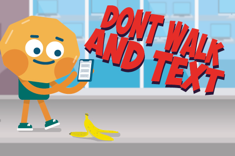 Don't Walk and Text (WPE09)