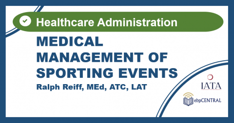Medical Mgmt-Sporting Events