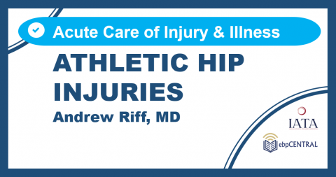 Athletic Hip Injuries