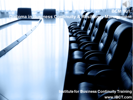 OLD901 Diploma in Business Continuity & Resiliency Management (BCM901)