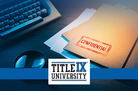 Title IX Investigator - Level 1 (Higher Ed.) (IND-TIXHE002)