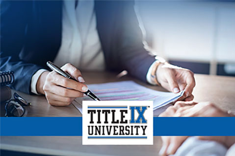 Title IX Advisor (Higher Ed.) (IND-TIXHE005)