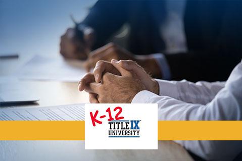 Title IX Informal Resolution (K-12) (IND-TIXK12005)