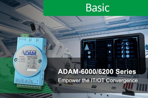 ADAM-6000/6200 Series :Intelligent ethernet remote I/O empower the IT/OT convergence (IO_0000454)