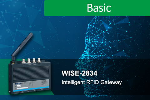 Features and advantages of WISE-2834: intelligent RFID gateway (IO_0000514)