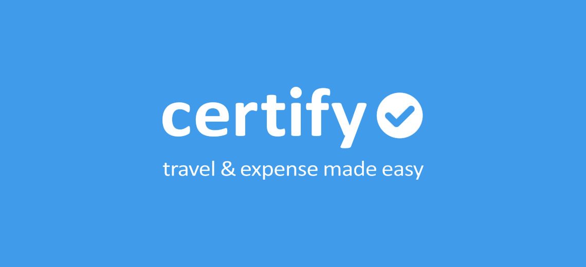 Certify Travel & Expense Management