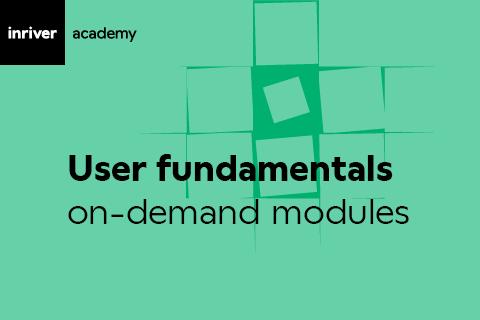User Fundamentals (Online/User)