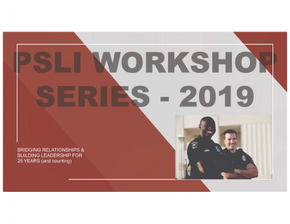 PSLI~Leadership Workshop~April 2019