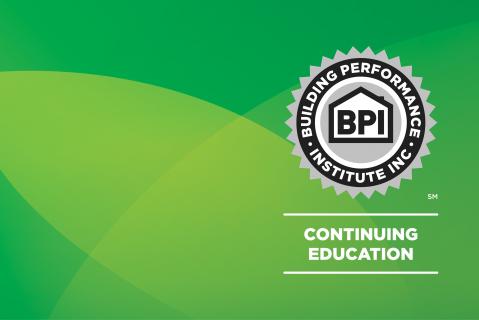 Facility Audits Series - Lighting Course (APS-BPI-EiQ501)