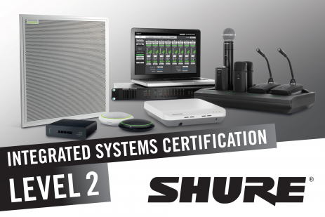 Shure Integrated Systems Certification Level 2