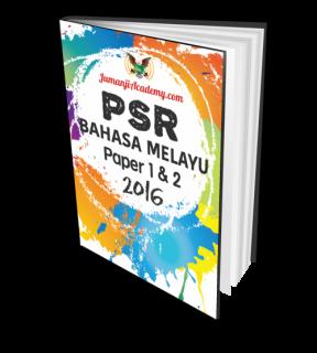 PSR Past Year Papers - Bahasa Melayu 2016 (PSR-BM16)