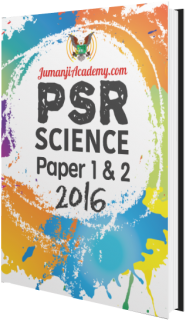 PSR Past Year Papers - Science 2016 (PSR-SCI16)