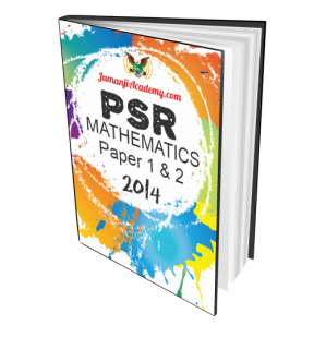 PSR Past Year Papers - Mathematics 2014 (PSR-MATHS14)