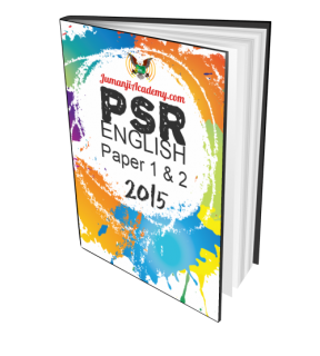 PSR Past Year Papers - English Language 2015 (PSR-ENG15)