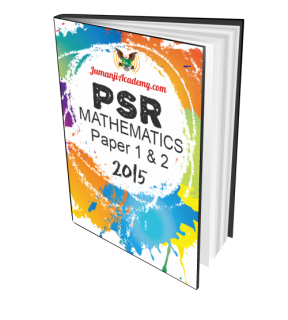 PSR Past Year Papers - Mathematics 2015 (PSR-MATHS15)