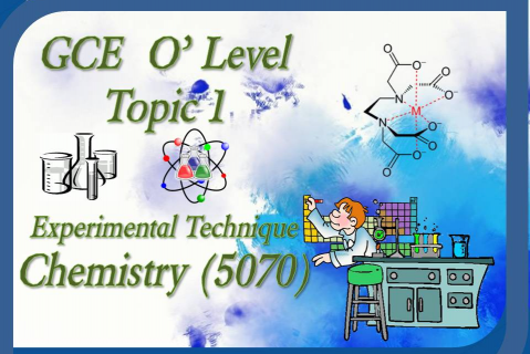 Year 9 – Chemistry - Topic 1 - Experimental Technique (Brunei Syllabus) (YR9/CHEM/N.AB/T01)