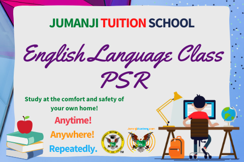 ENGLISH LANGUAGE CLASS (YEAR 6) (PSR-ENG)