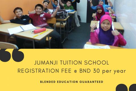 Jumanji School Registration Fee for Jumanji Academy Courses (JTS_REG_50%LESS)
