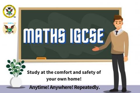 Maths IGCSE (STJA - MIGCSEY111)