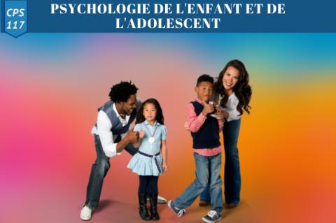 Psychologie de l'enfant et de l'ado (CPS 117)