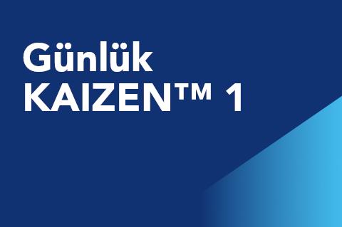 01 Günlük KAIZEN™ 1 (KCM101.2-KITR-01)