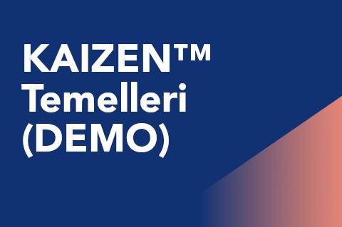 00 KAIZEN Temelleri (DEMO) (TRKCM101.1-Demo)