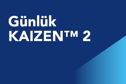 02 Günlük KAIZEN™ 2 (KCM101.3-KITR-tr)