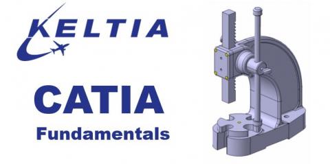 CATIA V5 Training - Basic Fundamentals (CATIA V5 - Intro)