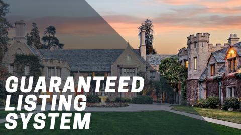 Gauranteed Listing System