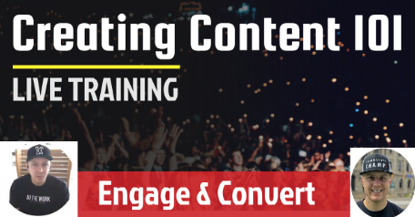 Creating Content 101 - In Partnership With ContentCardz.com