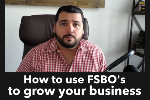 How to use FSBO's to grow your business even if they don't list with you