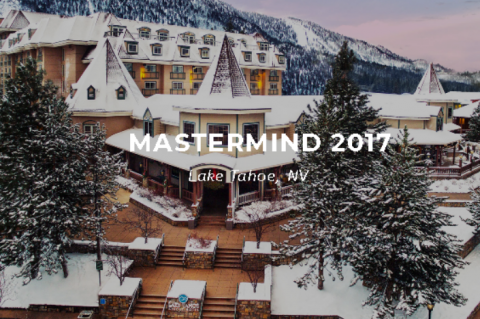 Mastermind 2017 - Lake Tahoe