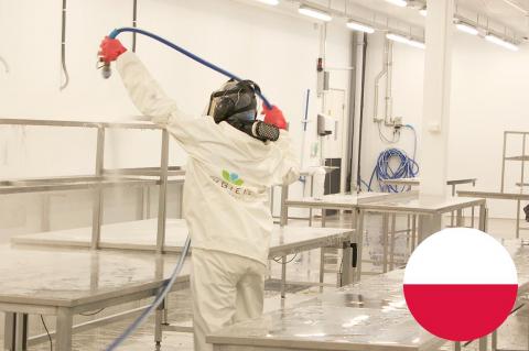 Higiena, jakość, obchodzenie się z chemikaliami i czyszczenie w przemyśle spożywczym (HN03-PL)
